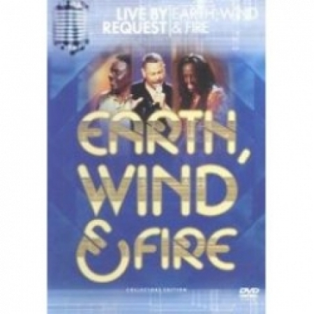 DVD - EARTH WIND & FIRE - LIVE BY REQUEST   A Mágica do Hip